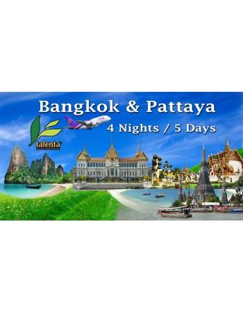 BANGKOK & PATTAYA - 5D 4N