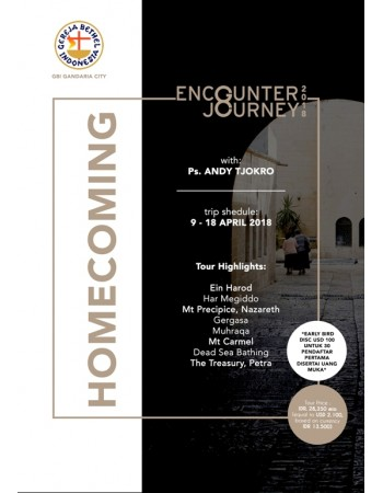HOMECOMING ENCOUNTER JOURNEY 09 - 18 APR 2018