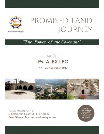 "PROMISED LAND JOURNEY ""THE POWER OF THE COVENANT"""