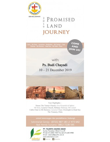 PROMISED LAND JOURNEY 2019