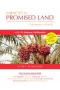 MIRACLES IN PROMISED LAND ''A JOURNEY OF FAITH'