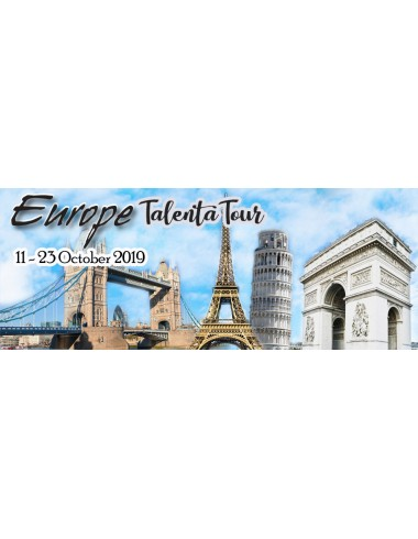 TALENTA WEST EUROPE - AUTUMN WONDERLAND 11 - 23 OCT 2019